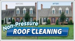 Roof cleaning by Extreme in Pasadena, MD