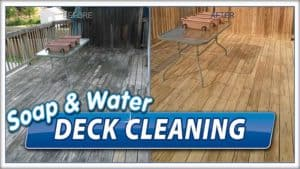 Deck cleaning by Extreme in Pasadena, MD